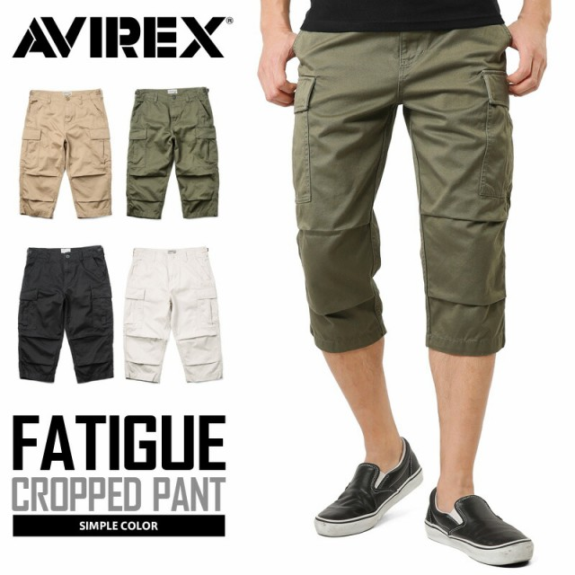 AVIREX アビレックス 6166114 FATIGUE CROPPED PA...