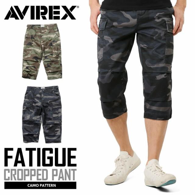 AVIREX アビレックス 6166115 FATIGUE CROPPED PA...