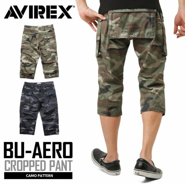 AVIREX アビレックス 6166117 BU-AERO CROPPED PA...