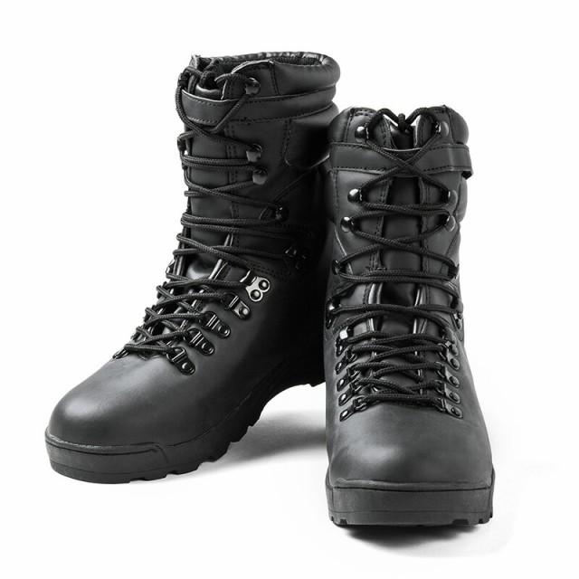 【T】新品 米軍 SWATコンバットブーツ BLACK ブラ...