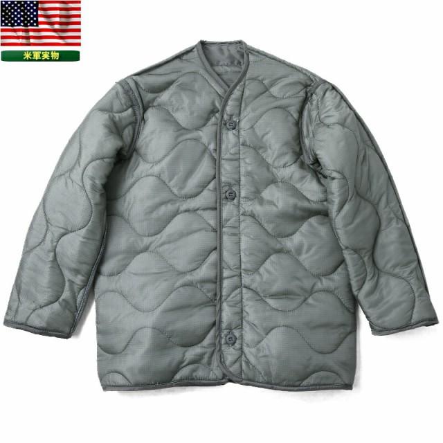実物 新品 米軍M-65フィールドジャケット用ライナ...