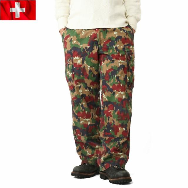 父の日 T 実物 スイス軍 M-83 フィールドパンツ ...