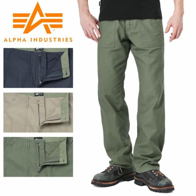 ALPHA アルファ TB1018 BAKER パンツ CTN.BACK SA...