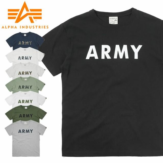 ALPHA アルファ TC1255 S/S プリント Tシャツ ARM...