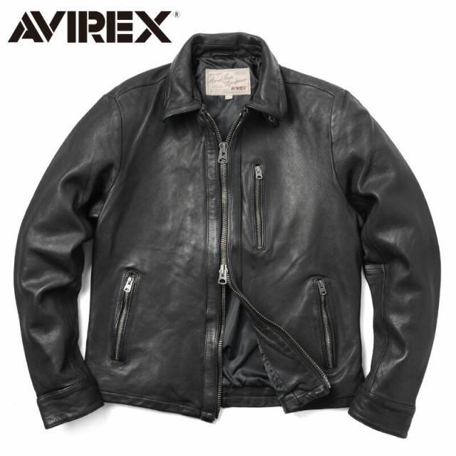 AVIREX アビレックス 6171075 SHEEP SKIN ライダ...