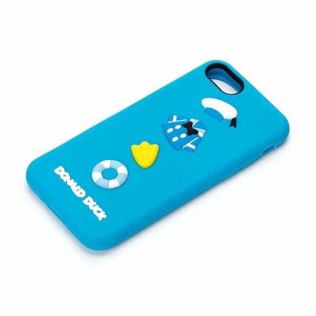 PG-DCS145DND ディズニーiPhone 7用シリコンケー...