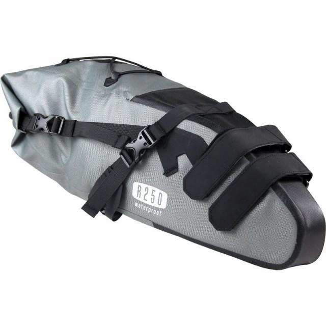 【特急】R250 防水大型サドルバッグ ラージ グレ...