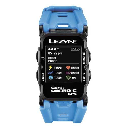 レザイン マイクロ カラー GPS ウォッチ ブルー