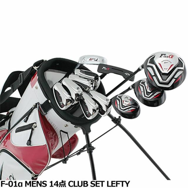 ワールドイーグル F-01α メンズ14点ゴルフクラブ...