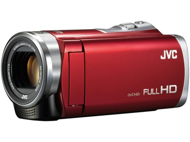 JVC ビデオカメラ Everio GZ-E109-R