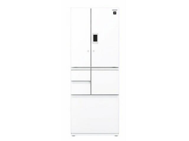 シャープ 冷凍冷蔵庫 SJ-GX50D-W [ピュアホワイト...