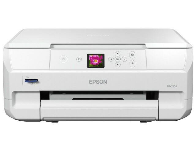 EPSON プリンタ カラリオ EP-710A