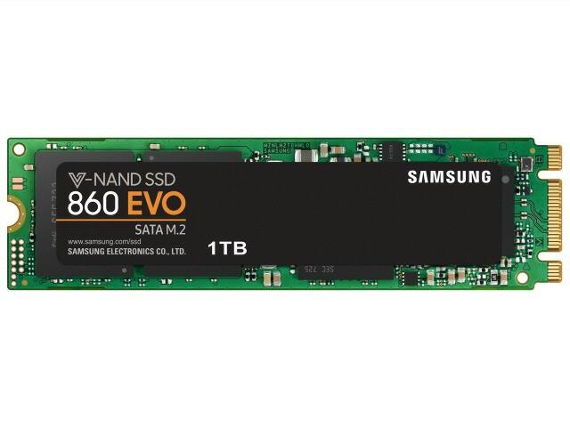 サムスン SSD 860 EVO M.2 MZ-N6E1T0B/IT