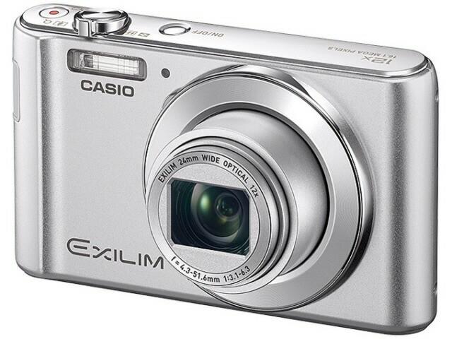 カシオ デジタルカメラ EXILIM EX-ZS260SR [シル...