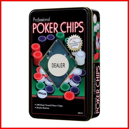 カードマーク ポーカーチップセット (5色 100枚入...