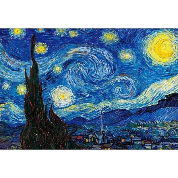 ジグソーパズル 1000マイクロピース 星月夜 [M81-...