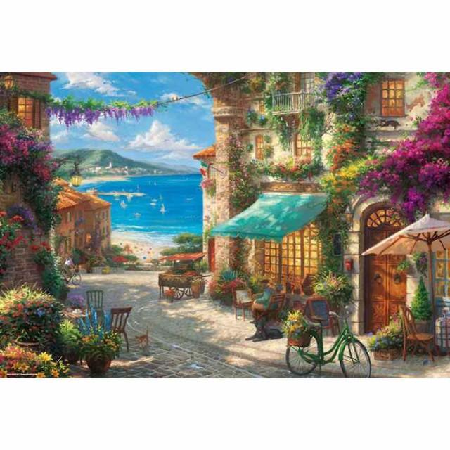 ジグソーパズル 1000ピース シチリアの花咲くカフ...