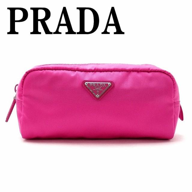 c76448d48bfe プラダ PRADA ポーチ コスメポーチ 化粧ポーチ ピンク 小物 ロゴ 1NA350-2BQP-F0029【