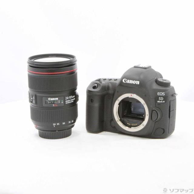 (中古)Canon EOS 5D MarkIV EF24-105L IS II USM ...