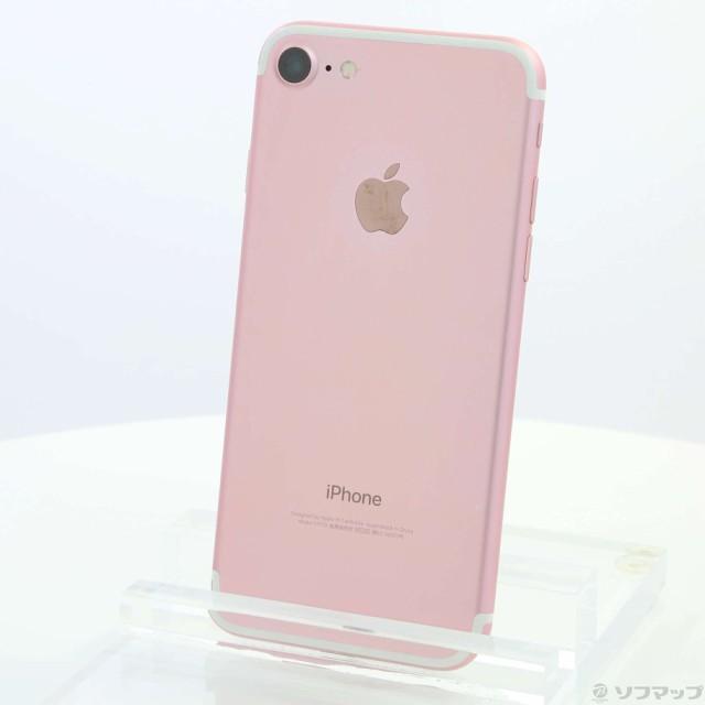 (中古)Apple iPhone7 128GB ローズゴールド MNCN2...