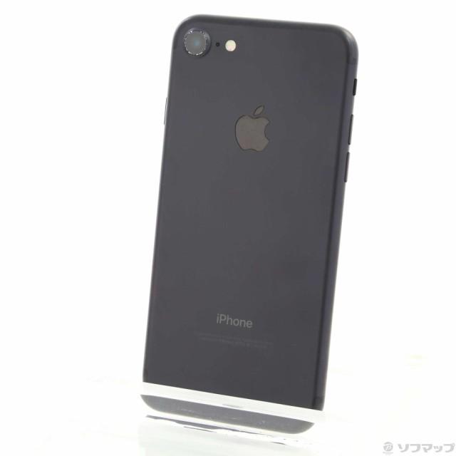 (中古)Apple iPhone7 128GB ブラック NNCK2J/A SI...