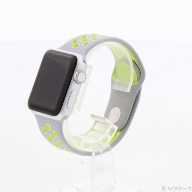 (中古)Apple Apple Watch Series 2 Nike+ 38mm シ...