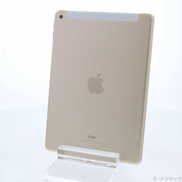 (中古)Apple iPad 第5世代 32GB ゴールド MPG42J/...
