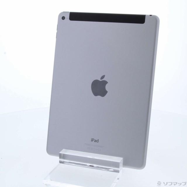 (中古)Apple iPad Air 2 32GB スペースグレイ MNV...