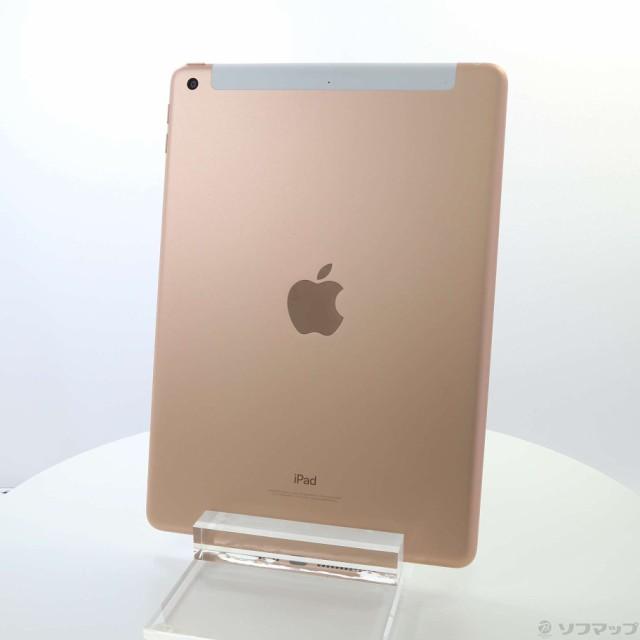 (中古)Apple iPad 第6世代 32GB ゴールド MRM02J/...