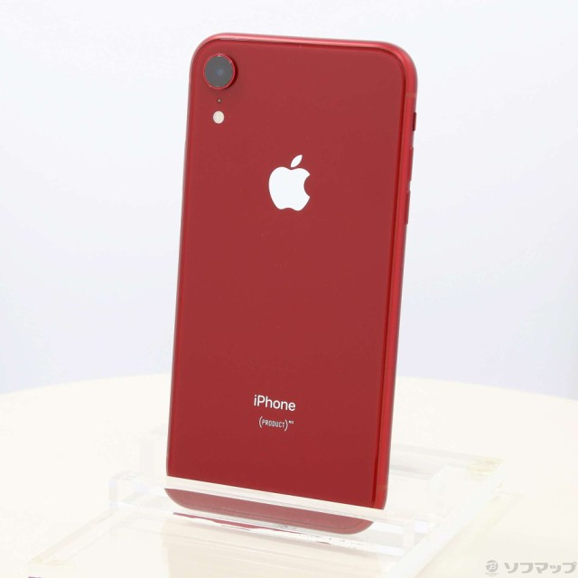 (中古)Apple iPhoneXR 64GB プロダクトレッド MT0...
