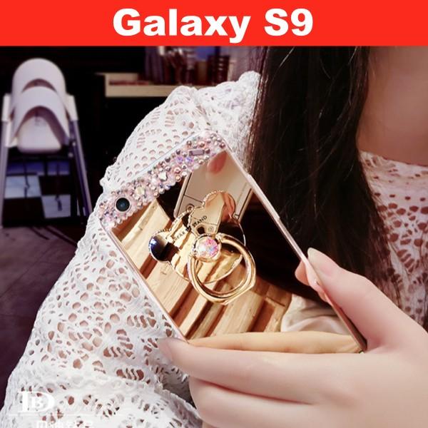 Galaxy S9 キラキラスタンドケース