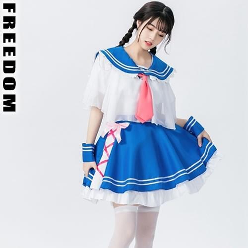 コスプレ 衣装 セーラー服 アイドル ★フリフリ&...