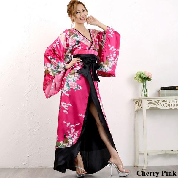 花魁 着物ドレス セクシー 着物 コスプレ 衣装 セ...