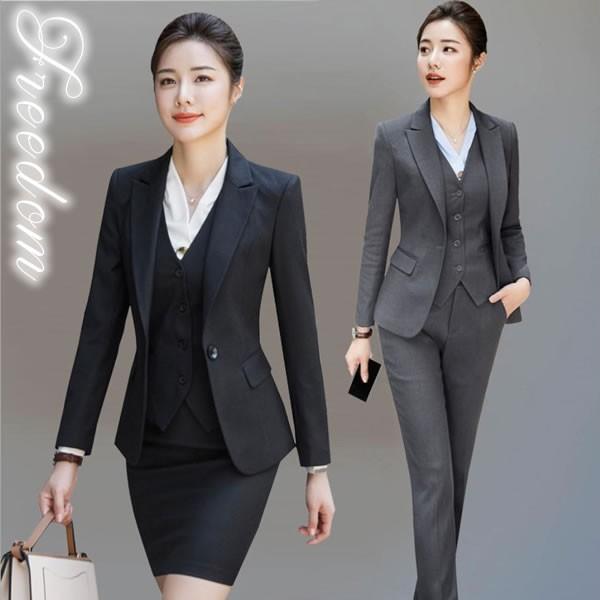 セール スーツ フォーマル OL ★ ジャケット、パ...