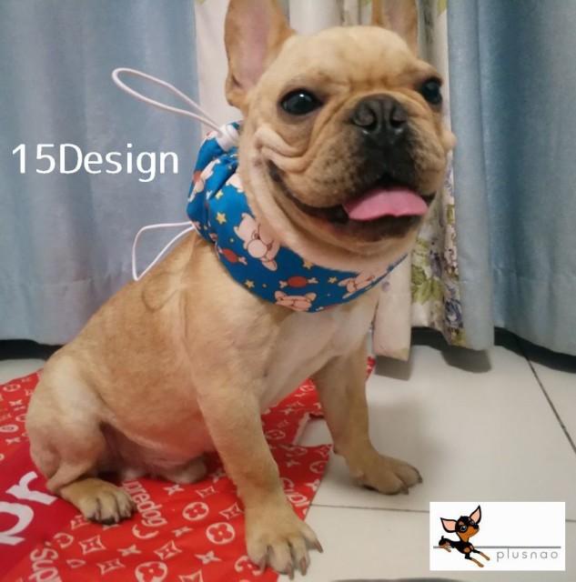 クールネックカバー クールバンド スカーフ 小型犬 ペット用 犬用 冷却 涼感 ひんやり 暑さ対策 カジュアル 布地 デザイン豊