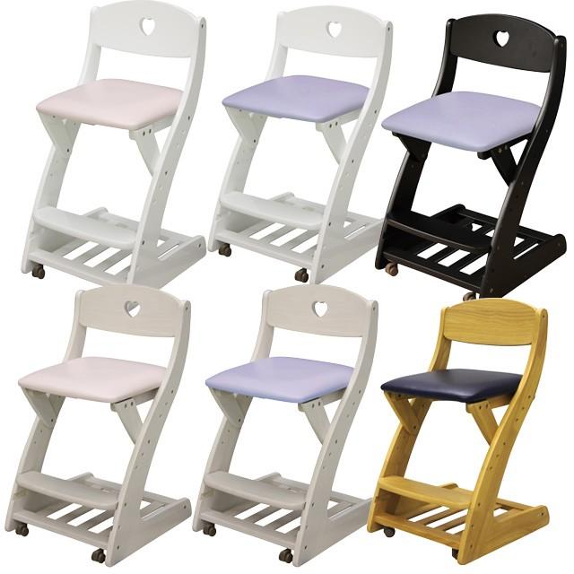 木製チェア 学習チェア 木製 子供用 椅子 座面PVC...