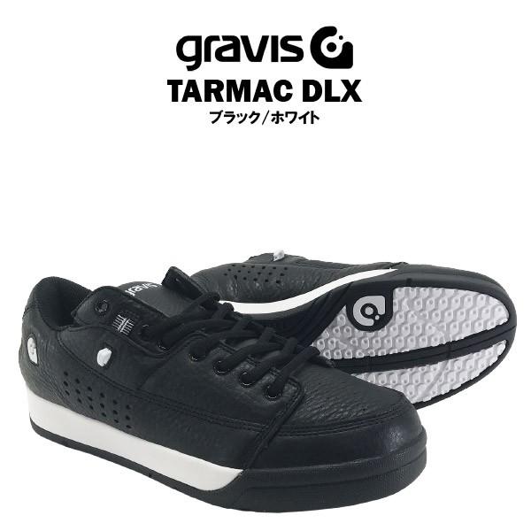 グラビス タ—マック DLX ブラック/ホワイト [gra...