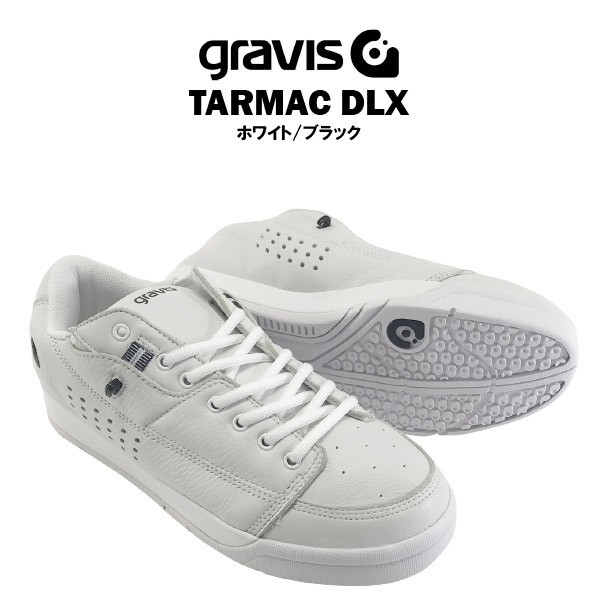 グラビス タ—マック DLX ホワイト/ブラック [gra...