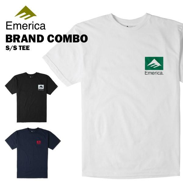 エメリカ ブランド コンボ S/S Tシャツ スケート ...
