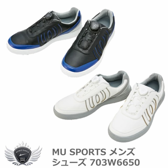 MU SPORTS エムユースポーツ メンズシューズ 703W...