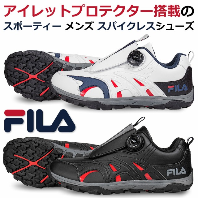 FILA メンズ スパイクレスシューズ welle FL-WSLS...