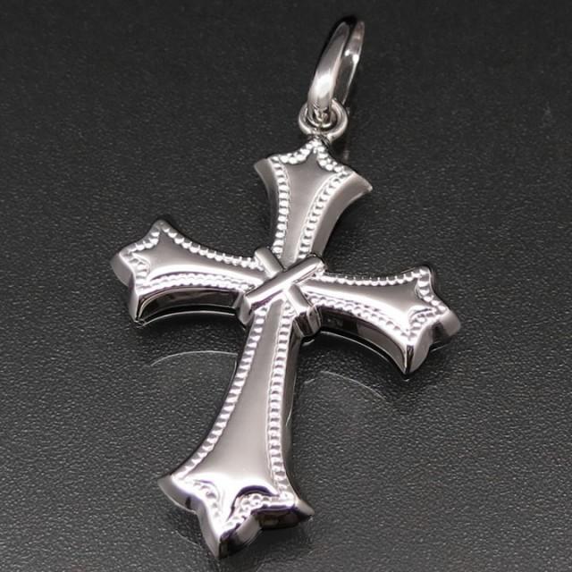 クロス(十字架) ペンダントトップ プラチナ850 ...