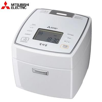 【送料無料】三菱電機 5.5合炊き 炊飯器 備長炭 炭炊釜 NJ-VVA10-W ピュアホワイト