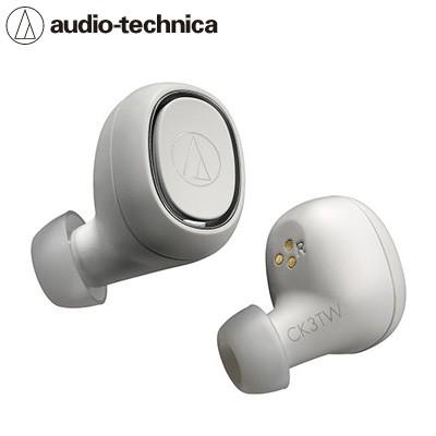 【送料無料】オーディオテクニカ 完全ワイヤレスイヤホン Bluetooth対応 ATH-CK3TW-WH ホワイト