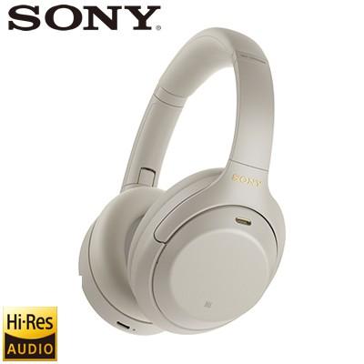 SONY ヘッドホン ワイヤレス ノイズキャンセリング ステレオヘッドセット ハイレゾ対応 WH-1000XM4-S プラチナシルバー