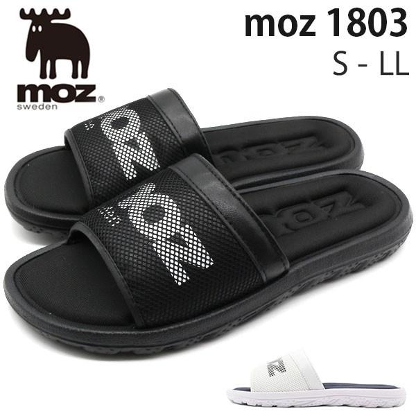 サンダル メンズ 靴 黒 白 ブラック ホワイト シ...