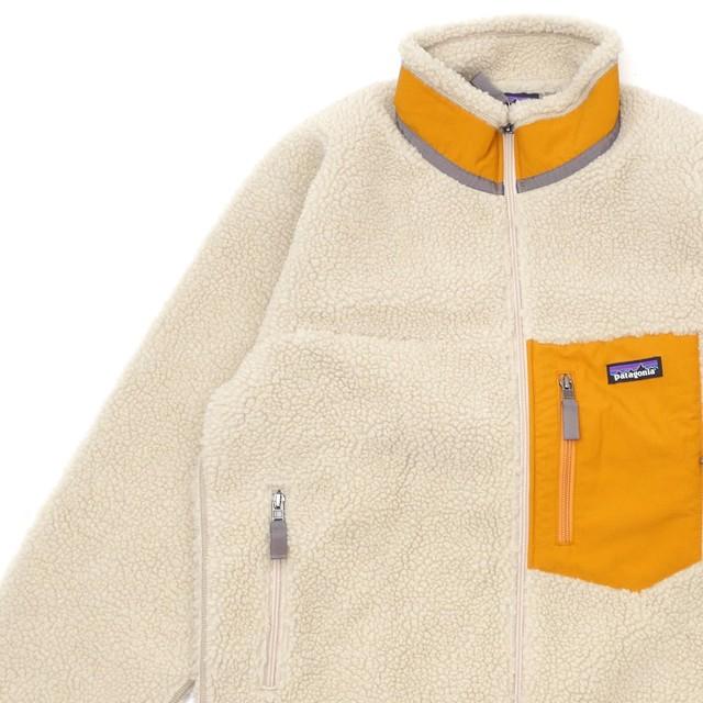 新品 パタゴニア Patagonia Ms Classic Retro-X Jacket クラシック レトロX ジャケット フリース パイル カーディガン PELICAN WREN GOLD