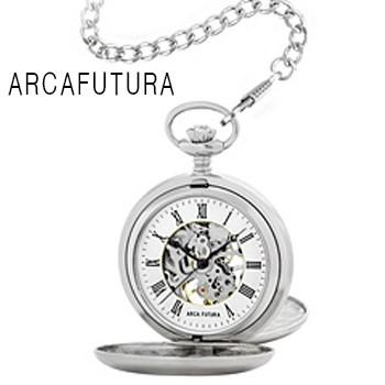 ARCAFUTURA アルカフトゥーラ 懐中時計 手巻き 機...