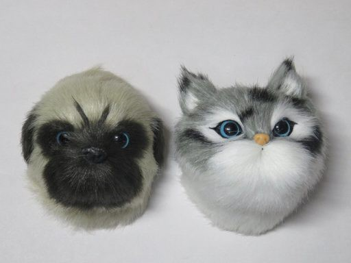 ZAK フランフラン 猫と犬のマグネットセット