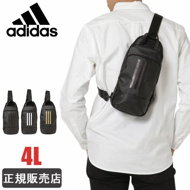 アディダス ボディバッグ adidas 4L 防水 メンズ ...